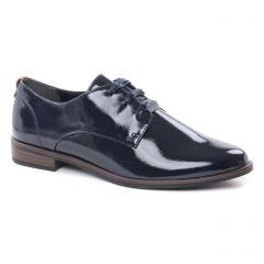 Chaussures femme été 2019 - derbys tamaris bleu marine