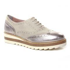 Tamaris 23717 Champagne : chaussures dans la même tendance femme (derbys-talons-compenses beige doré) et disponibles à la vente en ligne