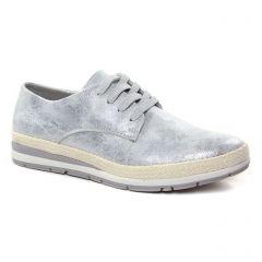 tennis gris argent: même style de chaussures en ligne pour femmes que les Marco Tozzi