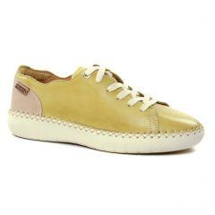 Chaussures femme été 2019 - tennis Pikolinos jaune
