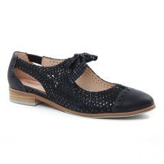 Chaussures femme été 2019 - derbys fugitive noir