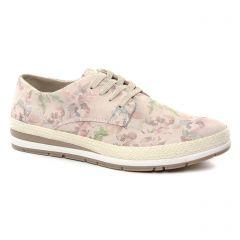 Chaussures femme été 2019 - tennis marco tozzi rose