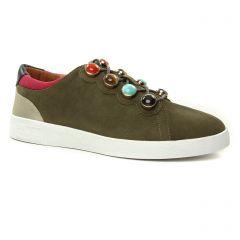 tennis vert kaki: même style de chaussures en ligne pour femmes que les Mamzelle