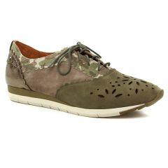 derbys vert kaki: même style de chaussures en ligne pour femmes que les Mamzelle