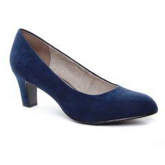 Tamaris 22418 Navy : chaussures dans la même tendance femme (escarpins bleu marine) et disponibles à la vente en ligne