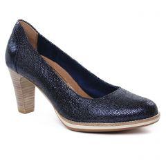 Chaussures femme été 2019 - escarpins tamaris bleu marine