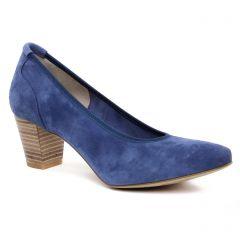 escarpins bleu: même style de chaussures en ligne pour femmes que les Marco Tozzi