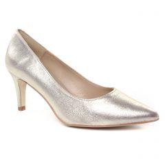 Chaussures femme été 2019 - escarpins Maria Jaén doré