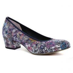 Chaussures femme été 2019 - escarpins Perlato multicolore