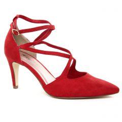 escarpins rouge bordeaux: même style de chaussures en ligne pour femmes que les Tamaris