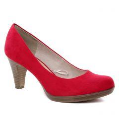 escarpins rouge: même style de chaussures en ligne pour femmes que les Marco Tozzi
