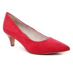 Chaussures femme été 2019 - escarpins tamaris rouge