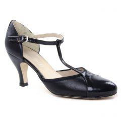 Chaussures femme été 2019 - escarpins salomé Maria Jaén noir