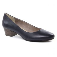 Chaussures femme été 2019 - escarpins trotteur marco tozzi bleu marine