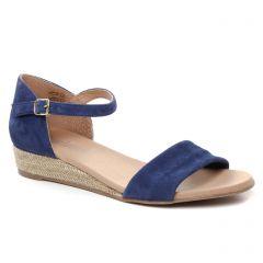 espadrilles-compensees bleu: même style de chaussures en ligne pour femmes que les Kanna