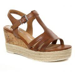 Marco Tozzi 28336 Nut : chaussures dans la même tendance femme (espadrilles-compensees marron) et disponibles à la vente en ligne