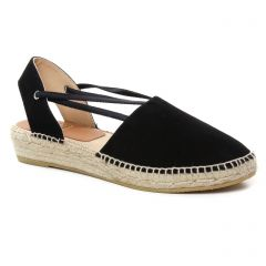 Chaussures femme été 2019 - espadrilles Kanna noir
