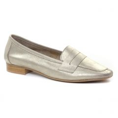 mocassins beige doré: même style de chaussures en ligne pour femmes que les Scarlatine