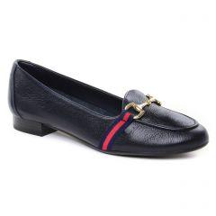 Chaussures femme été 2019 - mocassins Maria Jaén bleu marine