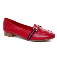 Chaussures femme été 2019 - mocassins Maria Jaén rouge bordeaux