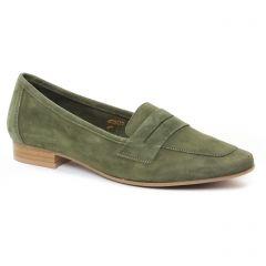 mocassins vert kaki: même style de chaussures en ligne pour femmes que les Scarlatine