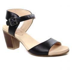 nu-pieds-talon noir: même style de chaussures en ligne pour femmes que les Fugitive