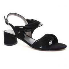 nu-pieds-trotteurs noir: même style de chaussures en ligne pour femmes que les Tamaris