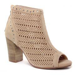 nu-pieds-talons-hauts beige: même style de chaussures en ligne pour femmes que les Maria Jaén