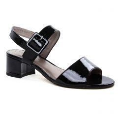 Chaussures femme été 2019 - nu-pieds talons hauts tamaris noir