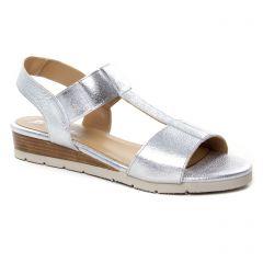 Chaussures femme été 2019 - sandales Maria Jaén argent
