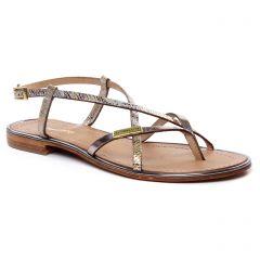 sandales beige doré: même style de chaussures en ligne pour femmes que les Les Tropéziennes