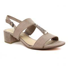 sandales beige taupe: même style de chaussures en ligne pour femmes que les Marco Tozzi
