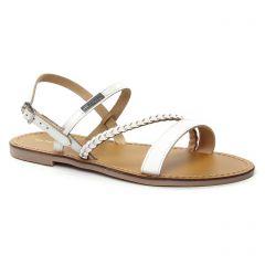 sandales blanc: même style de chaussures en ligne pour femmes que les Les Tropéziennes