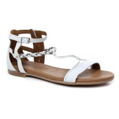 sandales blanc: même style de chaussures en ligne pour femmes que les Tamaris