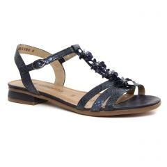 Chaussures femme été 2019 - sandales Remonte bleu marine