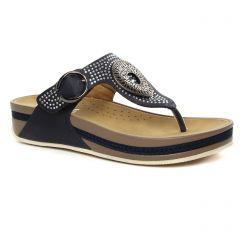 sandales bleu marine: même style de chaussures en ligne pour femmes que les Rieker