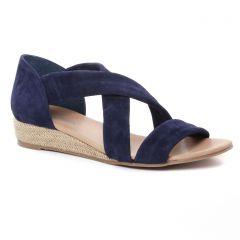 espadrilles bleu marine: même style de chaussures en ligne pour femmes que les Scarlatine