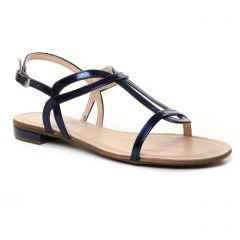 Chaussures femme été 2019 - sandales Maria Jaén bleu vernis