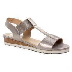 sandales bronze: même style de chaussures en ligne pour femmes que les Scarlatine