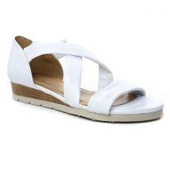 sandales-compensees blanc: même style de chaussures en ligne pour femmes que les Jb Martin