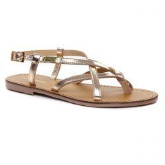 sandales doré: même style de chaussures en ligne pour femmes que les Les Tropéziennes