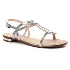 sandales gris argent: même style de chaussures en ligne pour femmes que les Maria Jaén