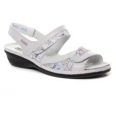 sandales gris rose: même style de chaussures en ligne pour femmes que les Suave