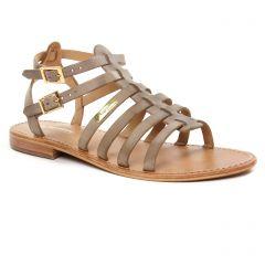 sandales gris taupe: même style de chaussures en ligne pour femmes que les Tamaris