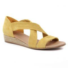 espadrilles jaune: même style de chaussures en ligne pour femmes que les Scarlatine
