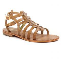 Chaussures femme été 2019 - sandales les tropéziennes marron clair