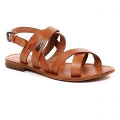 Les Tropéziennes Maline Miel : chaussures dans la même tendance femme (sandales marron orangé) et disponibles à la vente en ligne