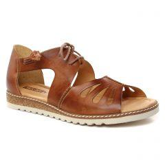 Chaussures femme été 2019 - sandales Pikolinos marron