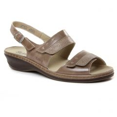 Chaussures femme été 2019 - sandales Suave marron