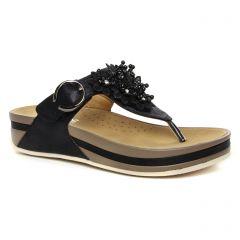 4ba2adde4173 Chaussures femme été 2019 - sandales rieker noir. Nouvelle Collection
